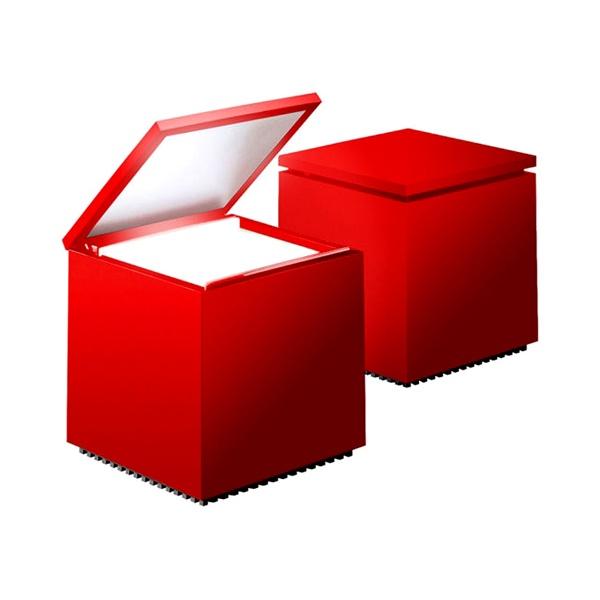 Lampka Cuboluce czerwona DK-18729