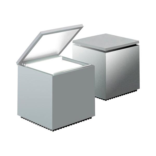 Lampka Cuboluce srebrna DK-18741