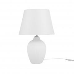 Lampka stołowa biała Tempo