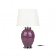 Lampka stołowa fioletowa Aspidistra BLmeble