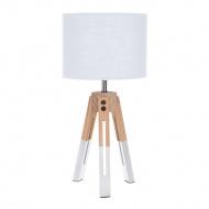 Lampka stołowa Intesi Brex biała
