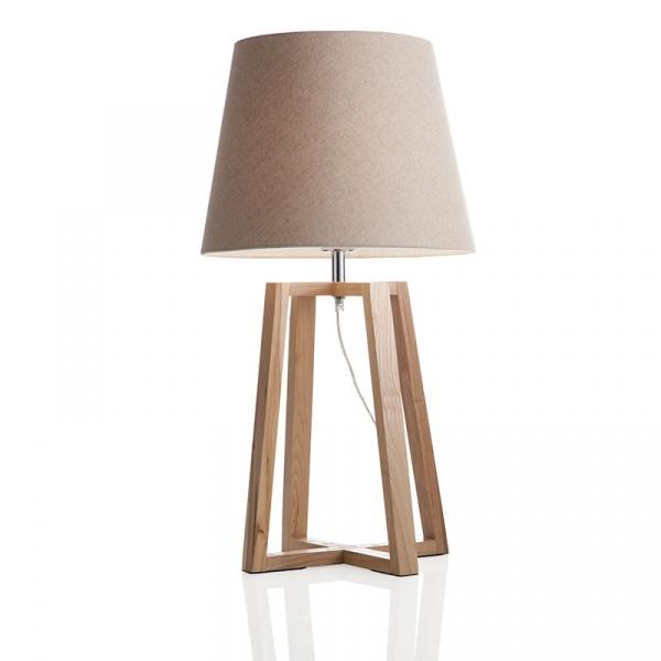 Lampka stołowa Square Brandani beżowy 55692