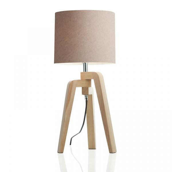 Lampka stołowa Trident Brandani beżowy 55690