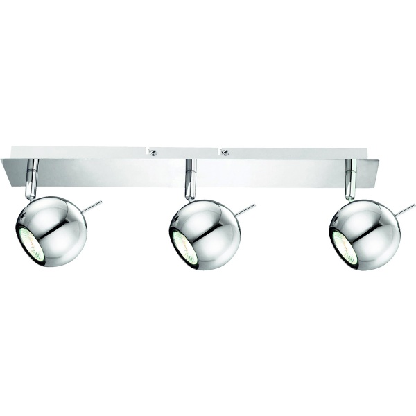 Listwa 7x44cm Lampex Vigo 3 srebrna 501/3