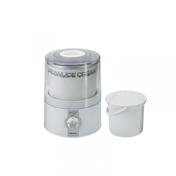 Lodziarko-jogurtownica Ice cream & Yoghurt maker 635 Ariete biały 8003705110137