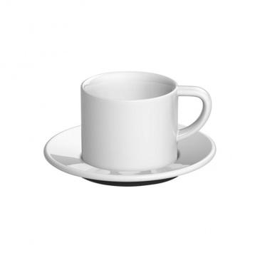 Loveramics Bond - Filiżanka i spodek Cappuccino 150 ml - White