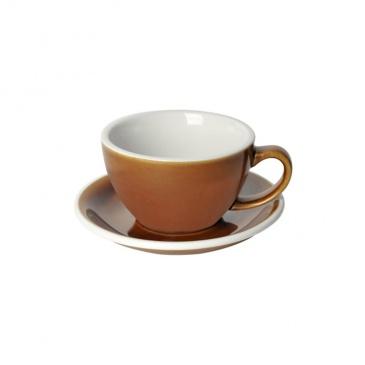 Loveramics Egg - Filiżanka i spodek Cafe Latte 300 ml - Caramel