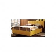 Łóżko Brenna z pojemnikiem na pościel do materaca 160x200 cm