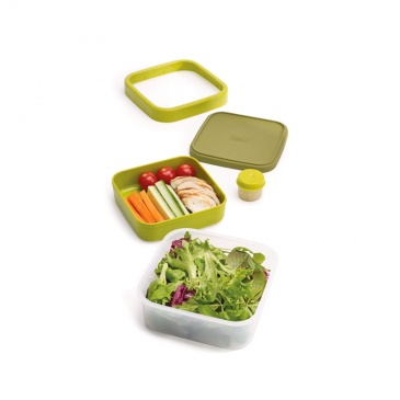 Lunch Box na sałatki Joseph Joseph GoEat zielony