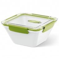 Lunchbox wysoki 1,5 L EMSA Bento Box biało-zielony