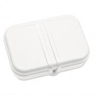 Lunchbox z separatorem 7x23,5cm Koziol Pascal L biały