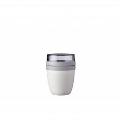 Lunchpot Ellipse mini biały 107650030600
