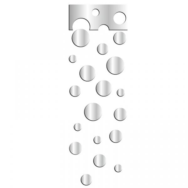 Lustro dekoracyjne WHEELS SET DekoSign Mirror plexi DS-L73