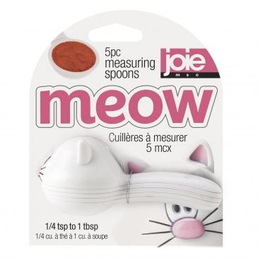 Łyżeczki miarki 5 szt. MSC International Meow białe