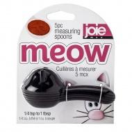 Łyżeczki miarki Meow 10 cm MSC czarne
