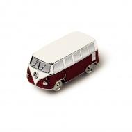 Magnes 3D 5x2,2x2,3 cm BRISA VW BUS czerwony