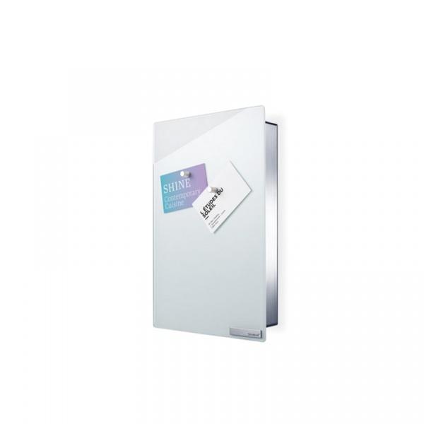 Magnetyczna skrzynka na klucze Blomus Velio pionowa biała B65370