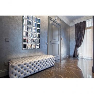 Lustro Dekoracyjne 120x80cm Artehome Martinozzi Srebrne