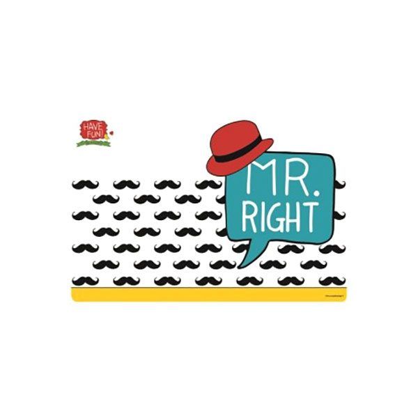 Mata stołowa Mr Right 45x30cm Nuova R2S Have Fun 550 RIGH