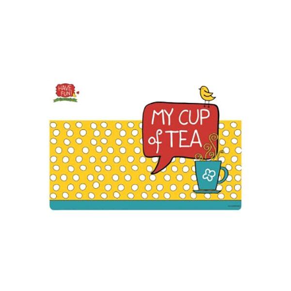Mata stołowa My Cup of Tea 45x30cm Nuova R2S Have Fun 550 MYTE