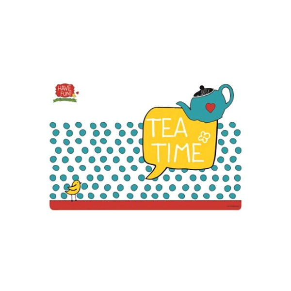 Mata stołowa Tea Time 45x30cm Nuova R2S Have Fun 550 TETI