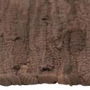 Maty na stół, 4 szt, Chindi, gładkie, brązowe, 30x45 cm