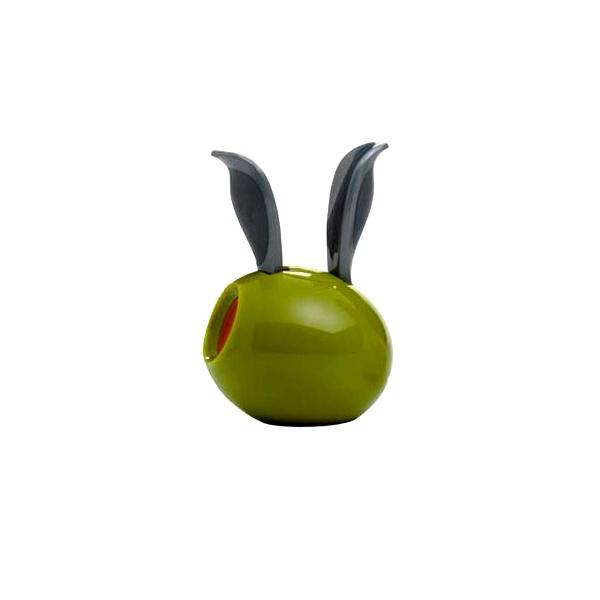 Mini młynek do pieprzu z magnesem 11 cm Chef'n Garden Variety zielona oliwka CH-101-185-093