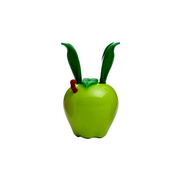 Mini młynek do pieprzu z magnesem 11 cm Chef'n Garden Variety zielone jabłuszko CH-101-189-094