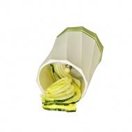 Mini-spiralizer do warzyw 7x9 cm Lurch zielono-biały