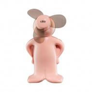 miniwentylator, 11 cm, różowy