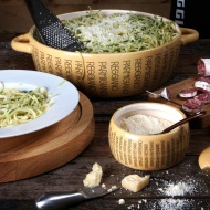 Misa do spaghetti 28 cm Boska Parmigiano Reggiano jasnobrązowa