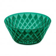Misa sałatkowa 3,5l Koziol Crystal Bowl L szmaragdowa zieleń