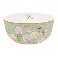 Misa z porcelany 14 cm Nuova R2S Palace Garden zielona