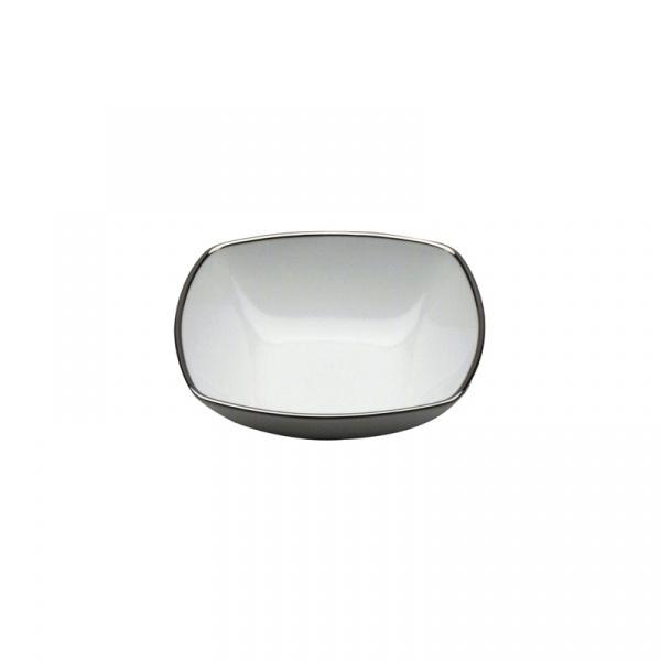 Miseczka kwadratowa do sałatki lub owoców Casa Bugatti Serena Platino 95-SPL477