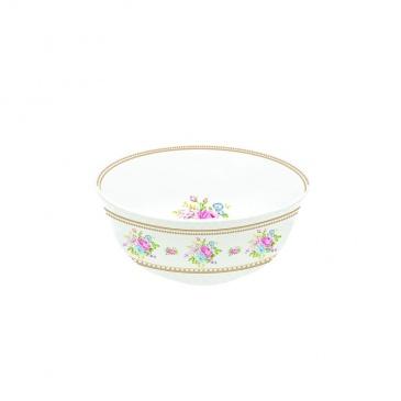 Miseczka z porcelany 11,5 cm Nuova R2S Vintage Bouquet biała