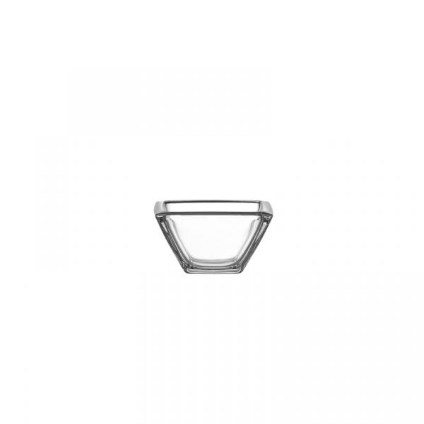 Miska 12,5 cm Leonardo Corner przezroczysta 063440