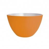 Miska 14cm ZAK!DESIGNS pomarańczowo-biała