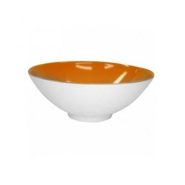 Miska 24 cm Vialli Design Venezia pomarańczowa
