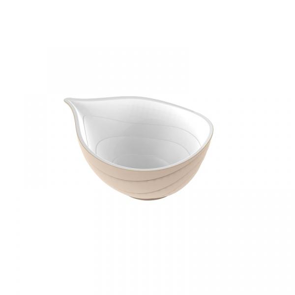 Miska 25 cm Zak! Design Onion beżowa 2265-1890