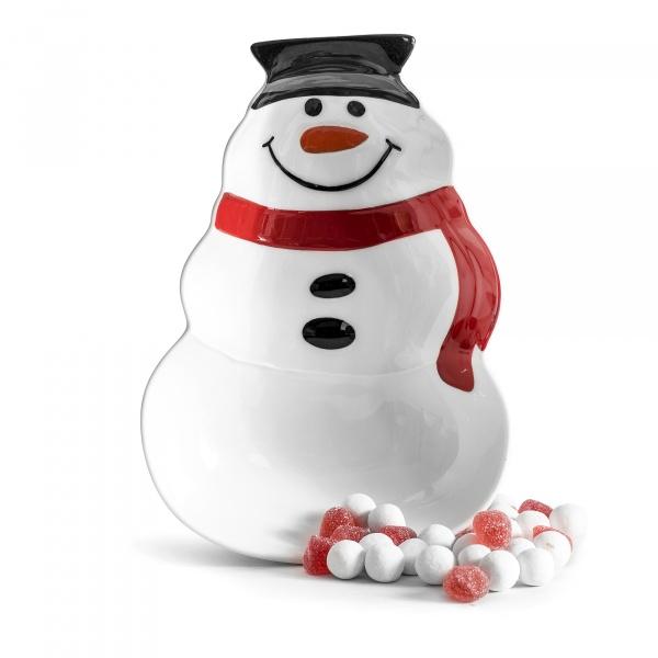 Miska ceramiczna Sagaform Winter bałwanek SF-5017701