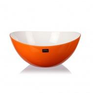 Miska Livio owalna pomarańczowa 25 cm 21839