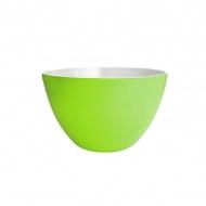 Miska na sałatki 22 cm Zak! Designs średnia biało-zielona