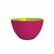 Miska na sałatki 22 cm Zak! Designs średnia różowo-zielona
