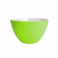 Miska na sałatki 28 cm Zak! Designs duża biało-zielona