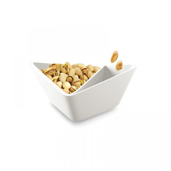 Miska NUT+ OLIVE Forminimal biała FNO001