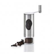 Młynek do kawy 6x18cm AdHoc Mrs.Bean srebrny