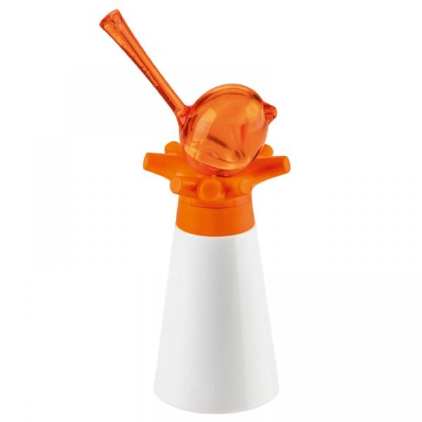 Młynek do pieprzu i przypraw z solniczką Koziol Pi:p pomarańczowy KZ-2980521