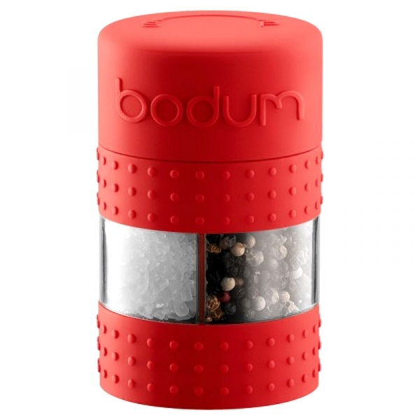 Młynek do soli/pieprzu Bodum Bistro czerwony BD-11368-294