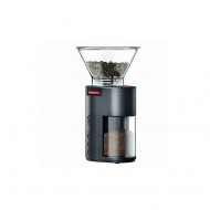 Młynek żarnowy elektryczny do kawy Bistro Bodum czarny