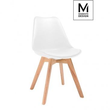 MODESTO krzesło NORDIC białe